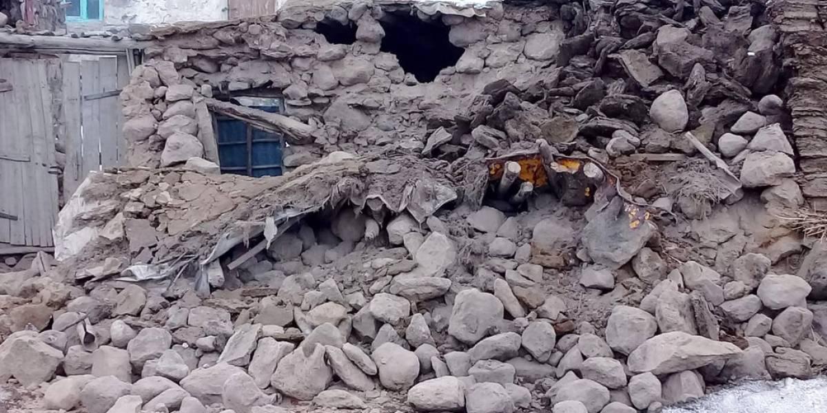 Al menos nueve muertos deja terremoto de 5.7 grados que afectó a Turquía e Irán