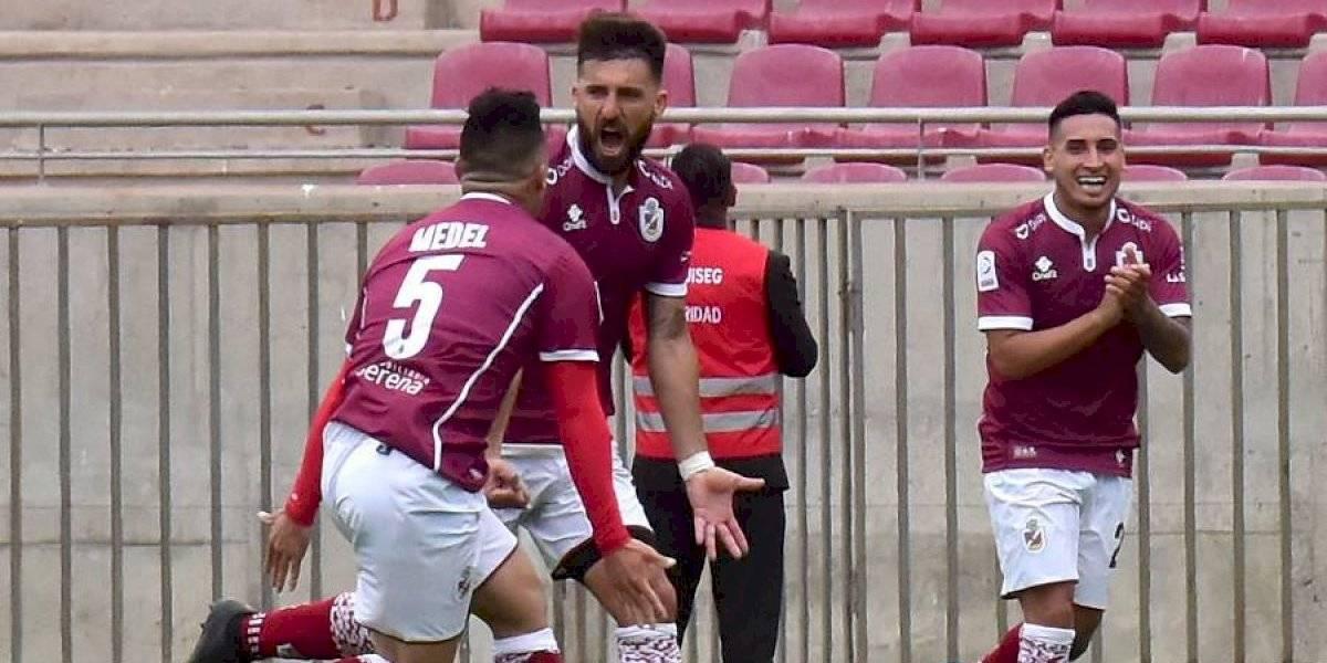 Deportes La Serena goleó a Santiago Wanderers en duelo de ascendidos del Campeonato Nacional