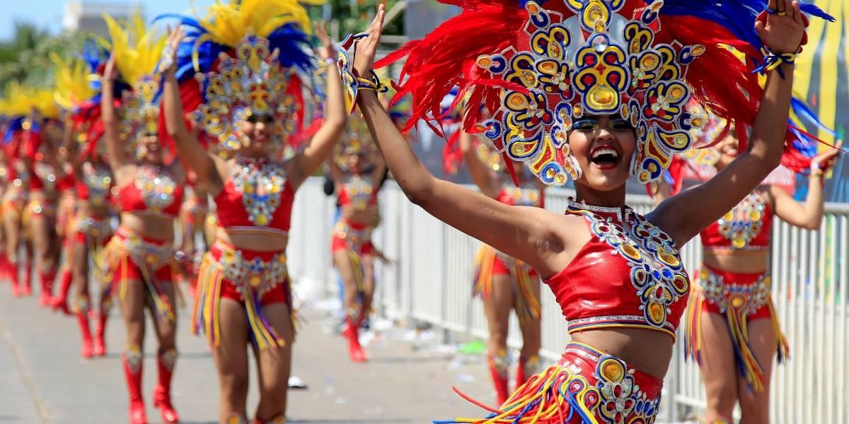 Así avanza el segundo día del Carnaval de Barranquilla