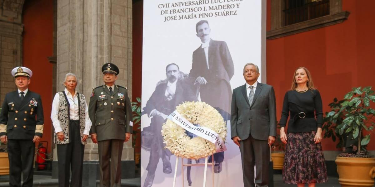 AMLO asegura que la 4T revive ideales del Maderismo