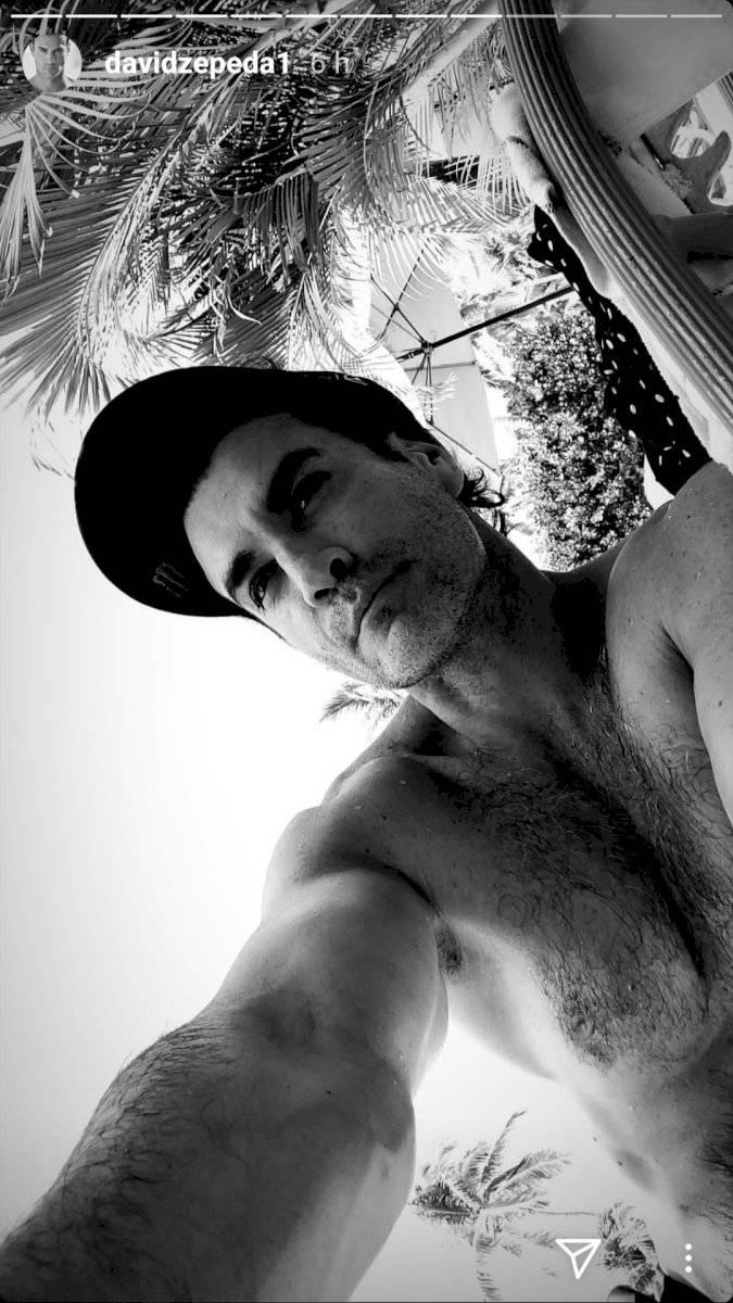 El desnudo de David Zepeda que enloquece y desata los instintos de sus fans