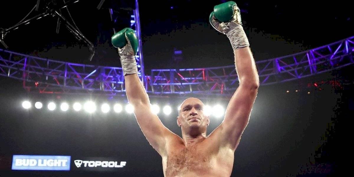Fury noquea a Wilder y es campeón de los pesos completos