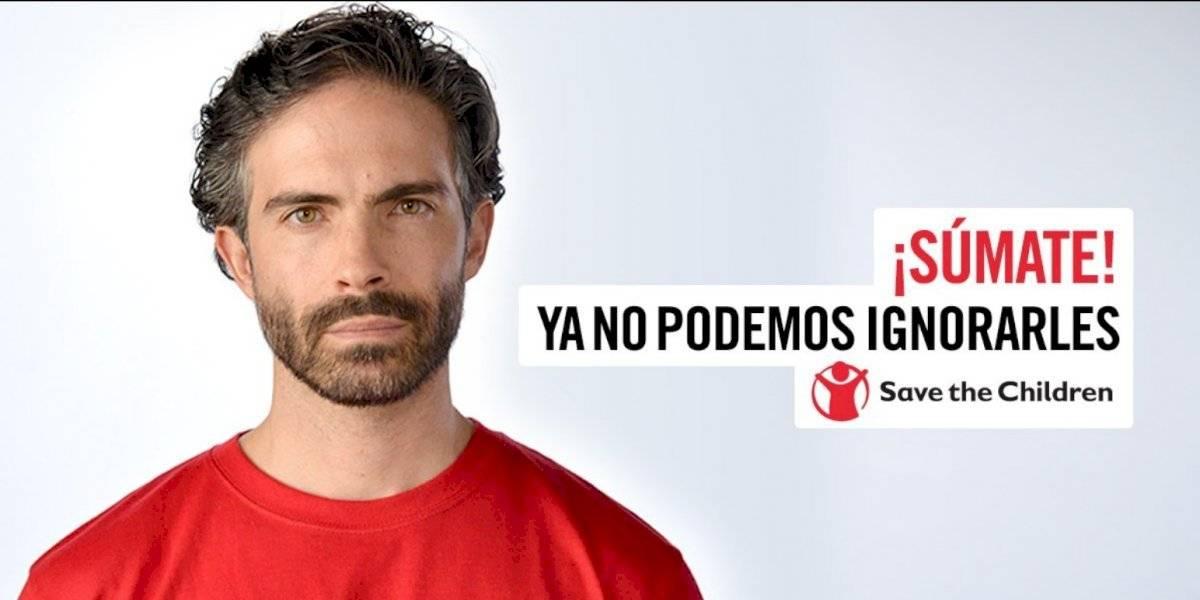 Osvaldo Benavides en pro de la niñez