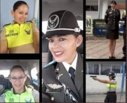 Entre las victimas se informó el fallecimiento de la sargento de policía Doris Edilma Laje Reyes.
