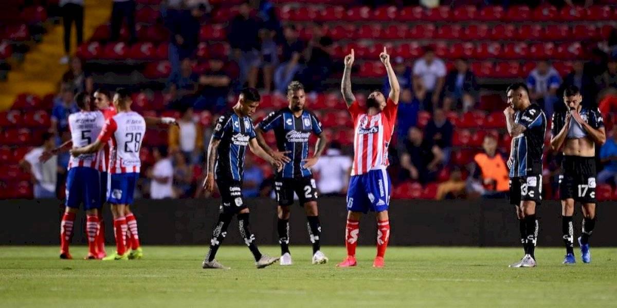 Atlético de San Luis cobra venganza y vence al Querétaro en La Corregidora