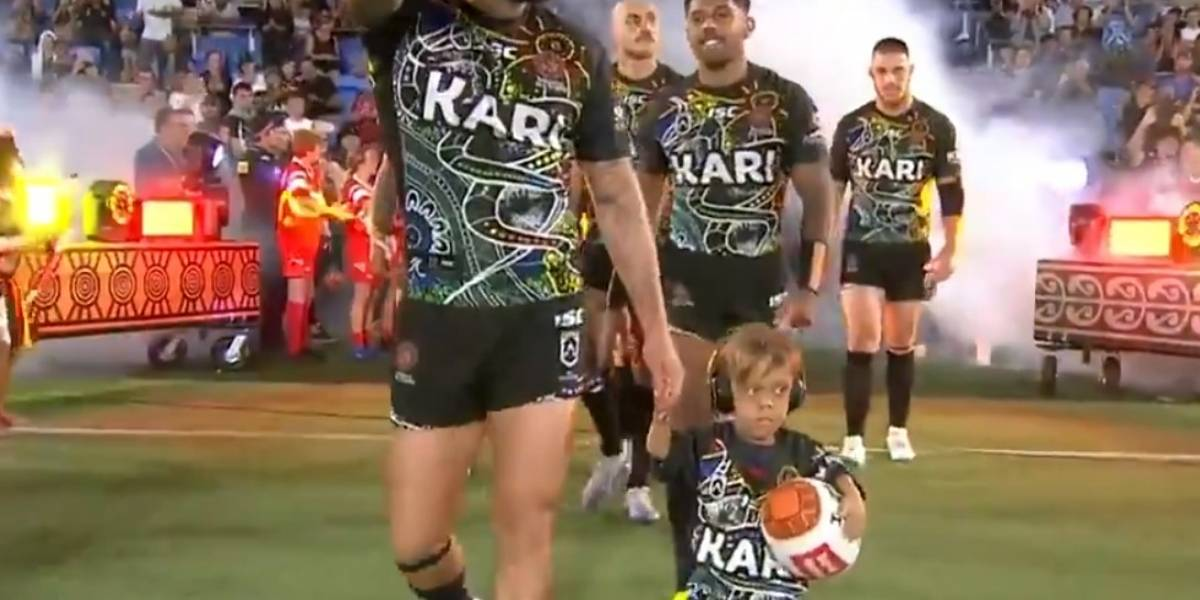 Regalo para Quaden: el niño que sufrió bullying en Australia lideró equipo de rugby