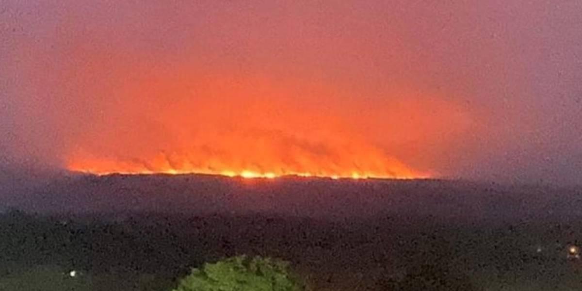 Calidad del aire en Bogotá empeoraría por incendios en La Macarena