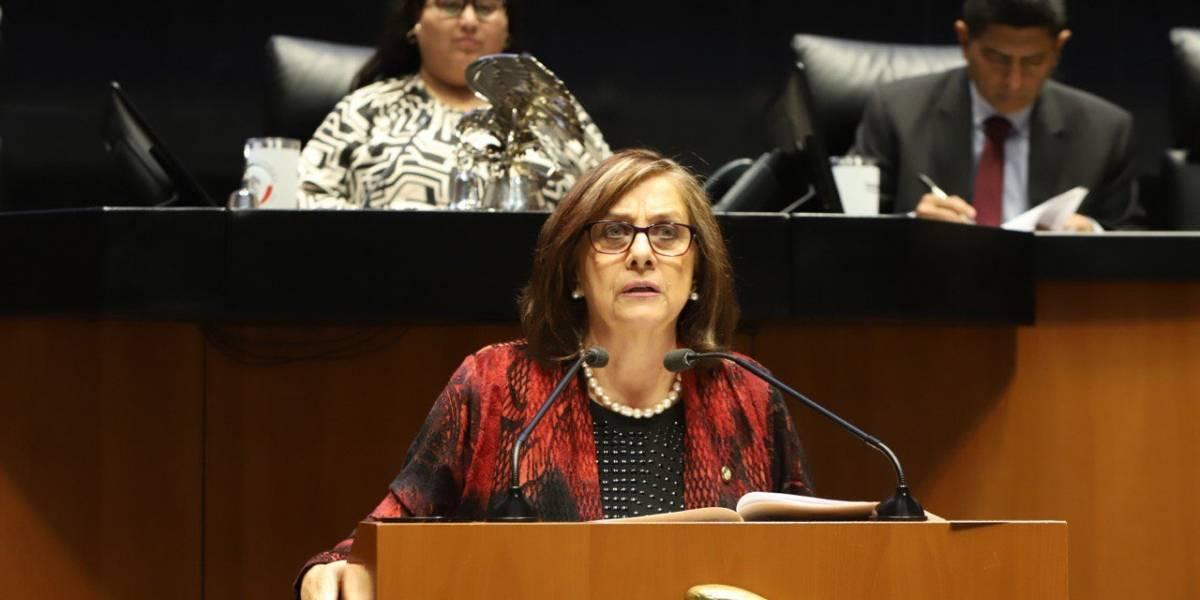 La senadora Malú Micher denuncia acoso en Guanajuato