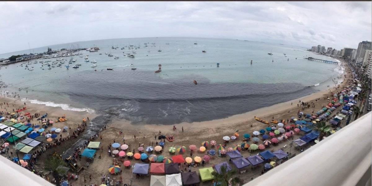 Salinas: Ministro del Ambiente se pronuncia tras envío de aguas servidas al mar