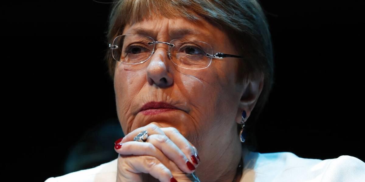 Michelle Bachelet pide no legar a las nuevas generaciones crisis de derechos humanos