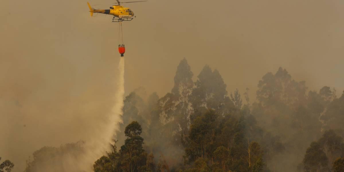 Región Metropolitana: Alerta Temprana Preventiva por amenaza de incendio forestal