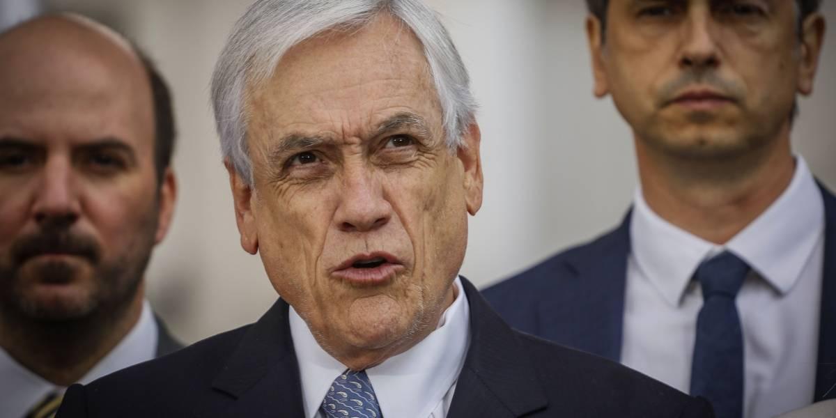"""""""Insiste en el mismo libreto"""": oposición reacciona al llamado de Piñera sobre un acuerdo nacional"""