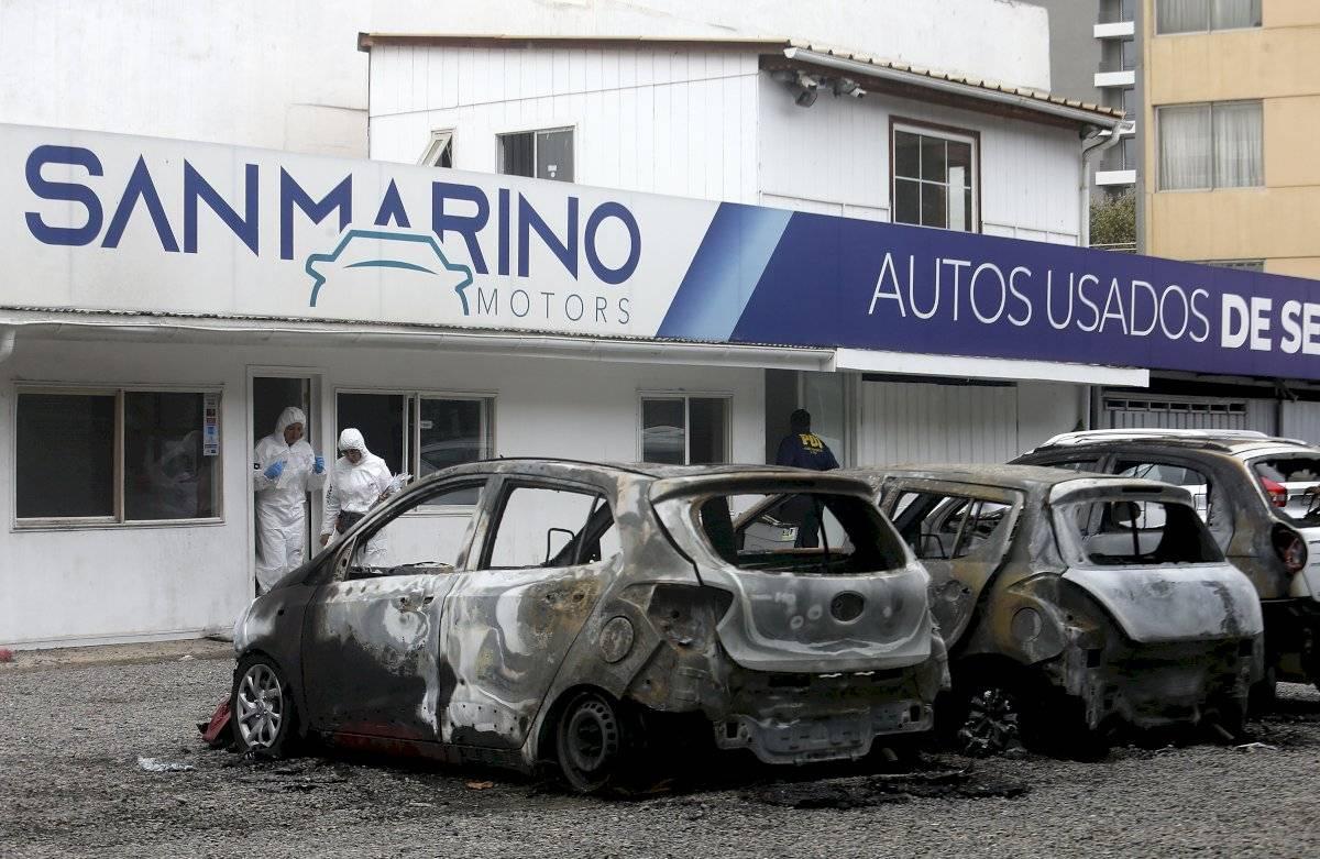 Incendio a automotora
