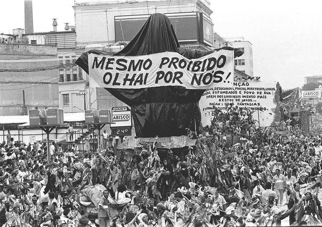 Cristo mendigo da Beija-Flor de 1989: imagem icônica do Carnaval