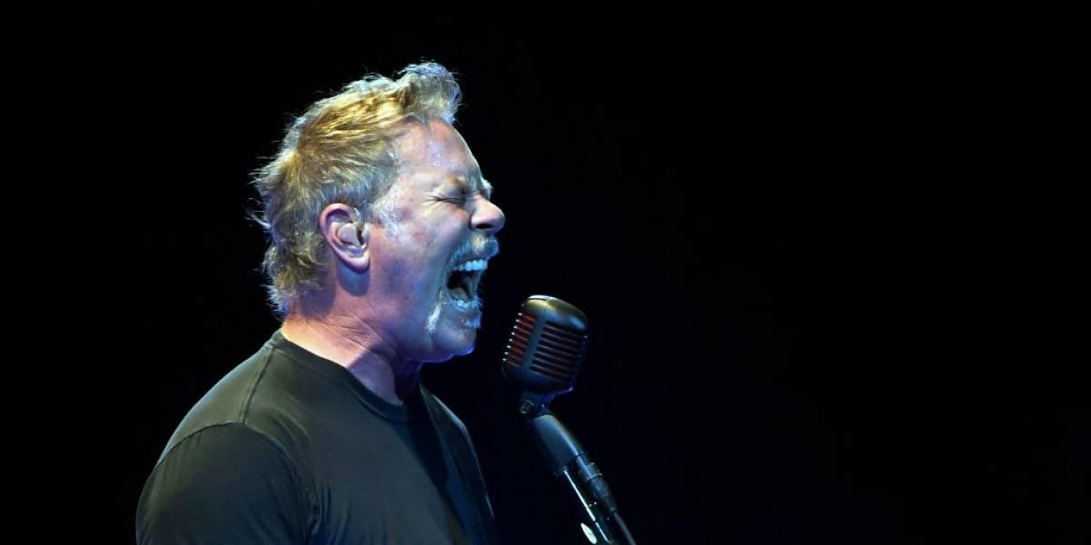 James Hetfield de Metallica pide disculpas a sus seguidores