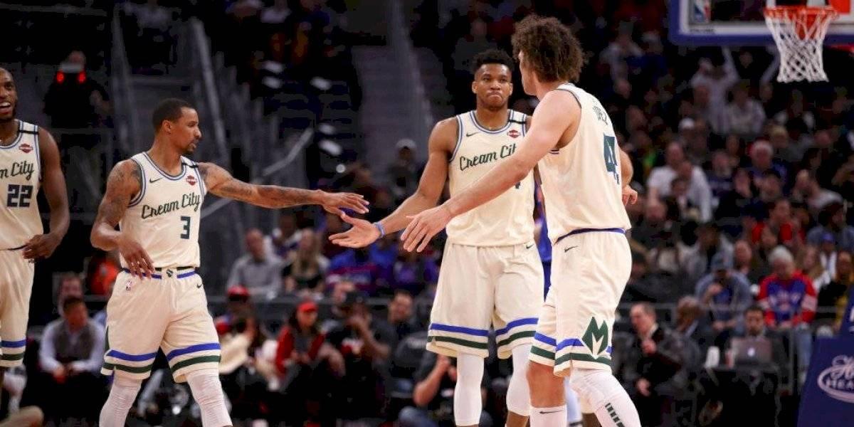 Milwaukee Bucks rompe récord y es el primer clasificado a los playoffs de la NBA