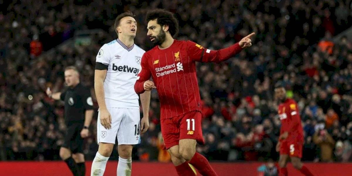 Liverpool remonta ante West Ham y sigue con su senda triunfal en la Premier League