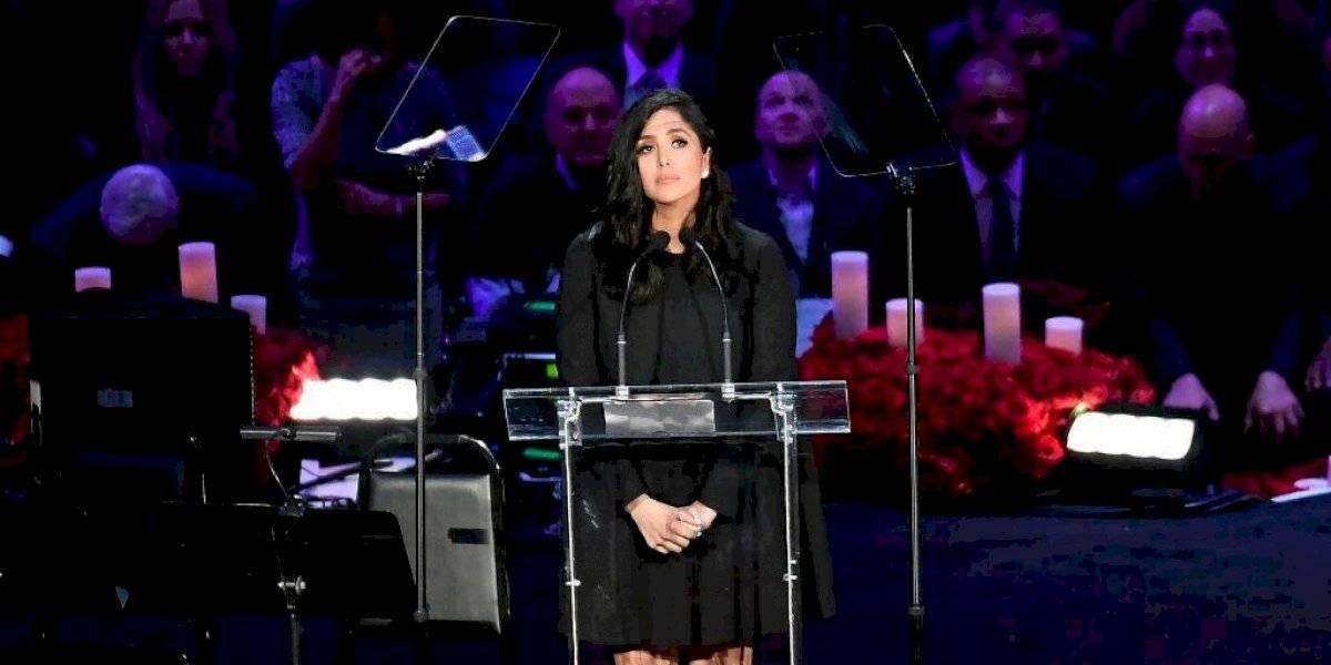 Vanessa Bryant demanda a compañía de helicóptero en el que fallecieron Kobe y Gianna