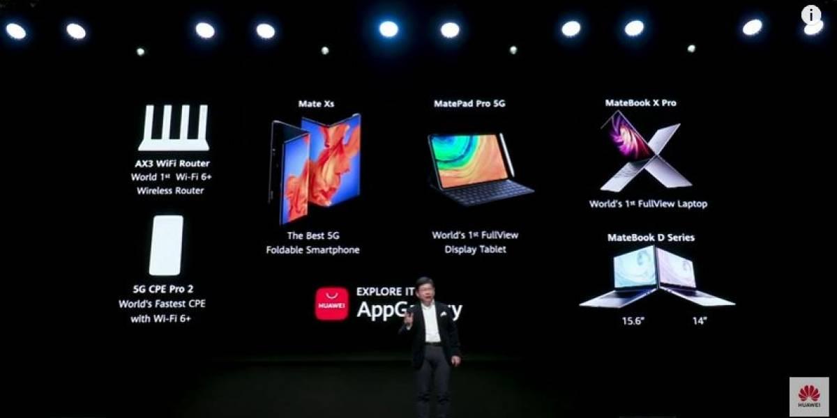 Huawei presenta en el marco del MWC en Barcelona sus próximos lanzamientos