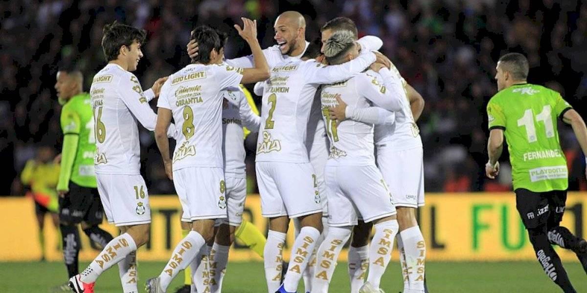 Agónica victoria de Santos en la frontera