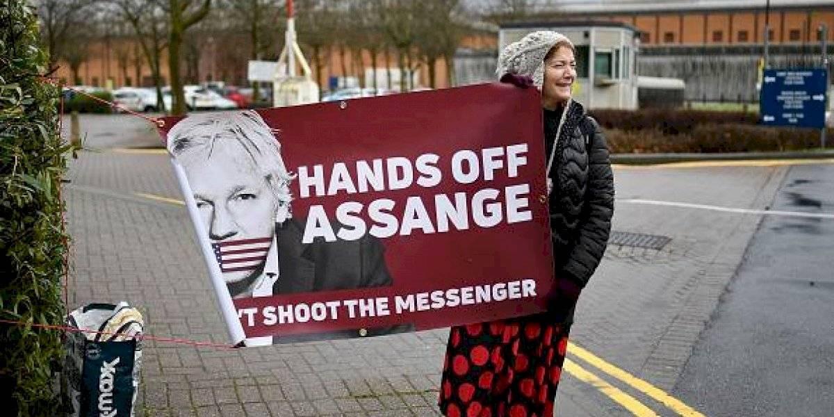 Assange rechaza su extradición a EEUU