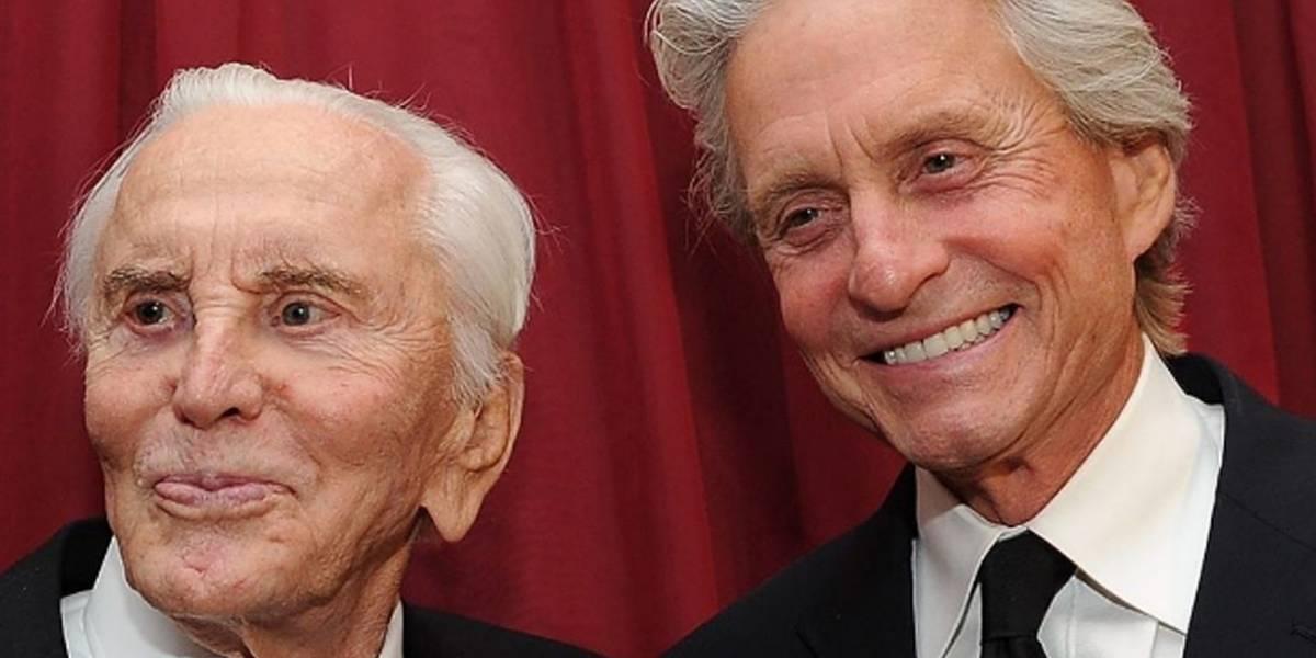 ¡Polémica revelación! Kirk Douglas no dejó nada de su fortuna a su hijo Michael
