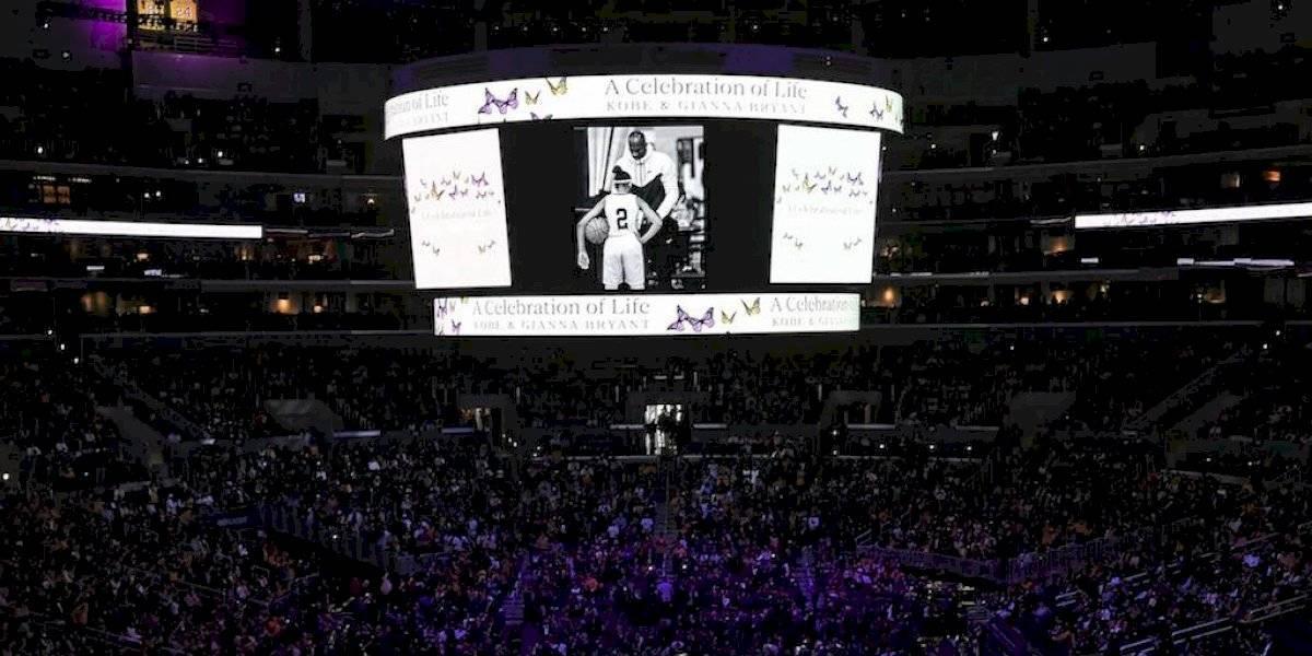 Miles de aficionados y estrellas de la NBA dan último adiós a Kobe Bryant