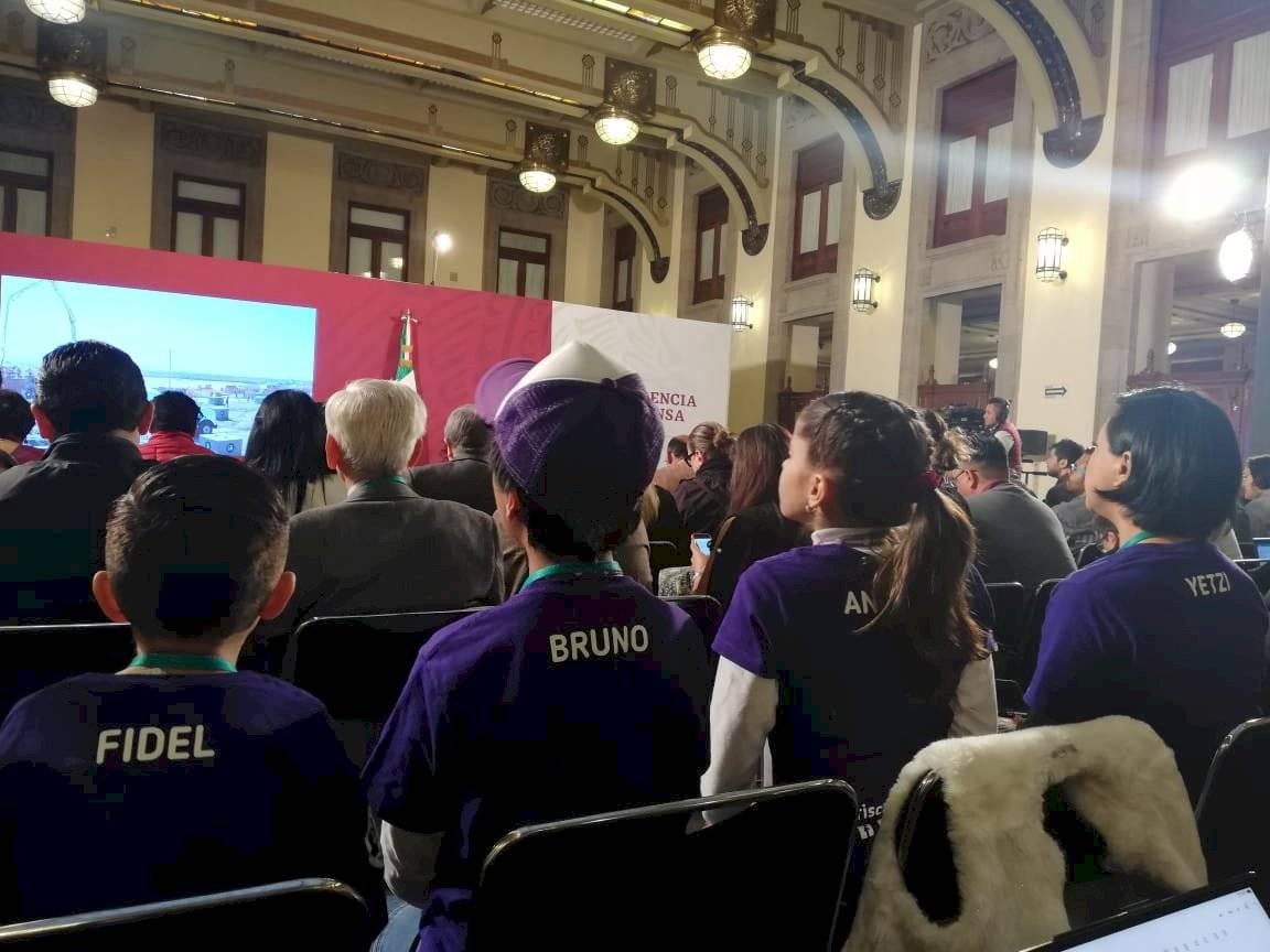 Conferencia matutina del presidente de México.