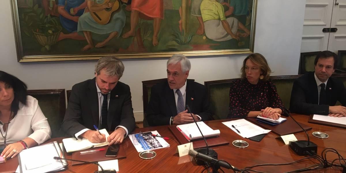 """Piñera fija como prioridad número uno del gobierno """"recuperar el orden público"""""""