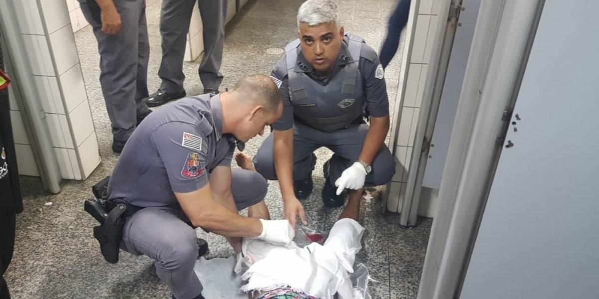 Policiais militares realizam parto dentro de estação da CPTM