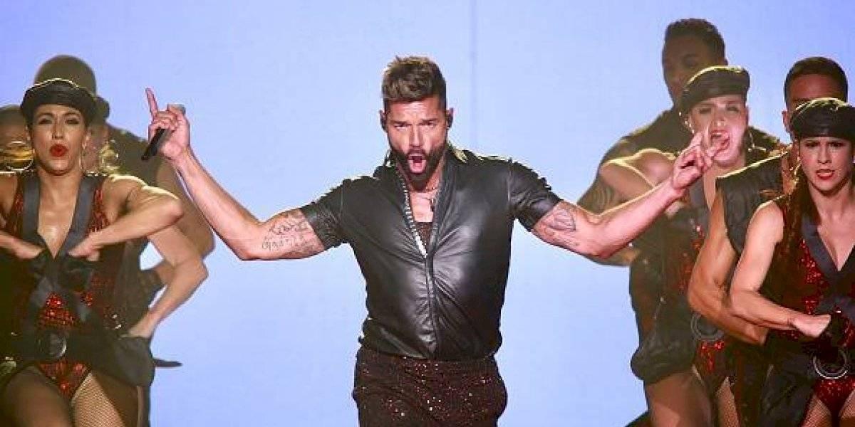 """Viña del Mar: así fueron los besos """"robados"""" de Ricky Martin a los presentadores"""