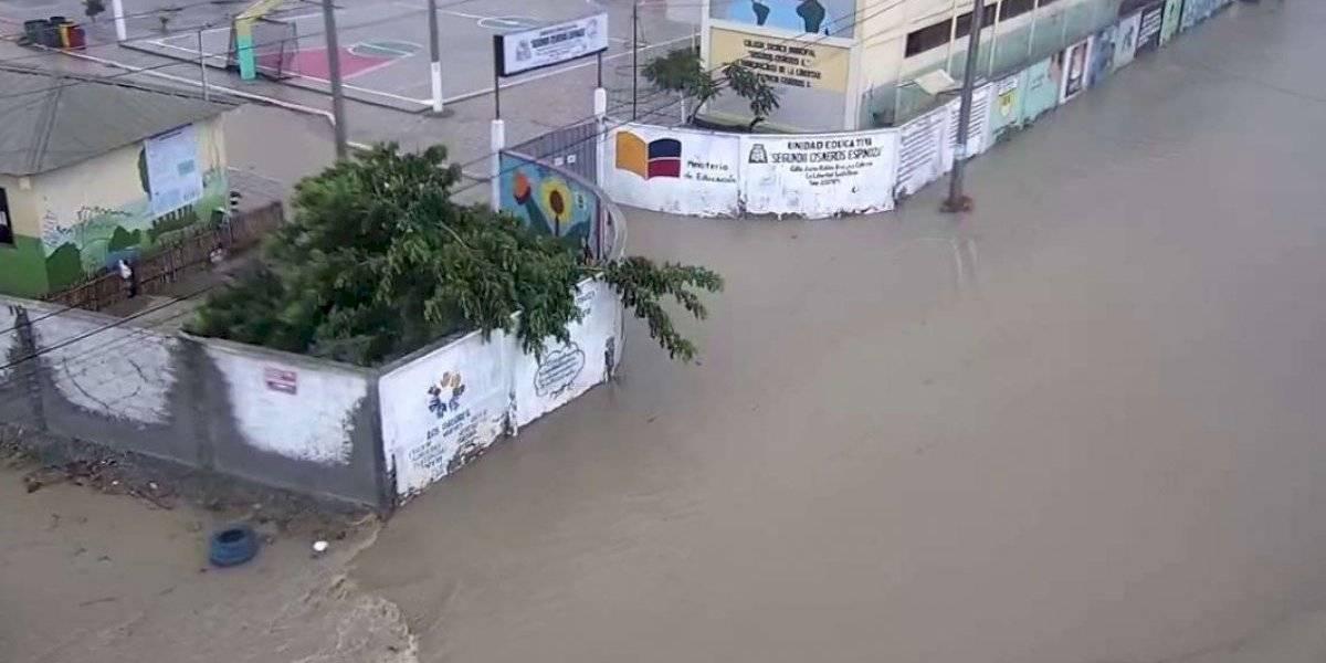 Carnaval: Salinas amaneció inundada este lunes 24 de febrero (videos)