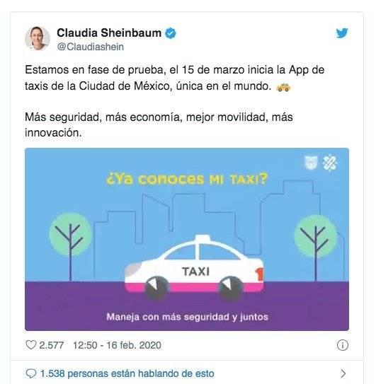 Uber DiDi Taxis México