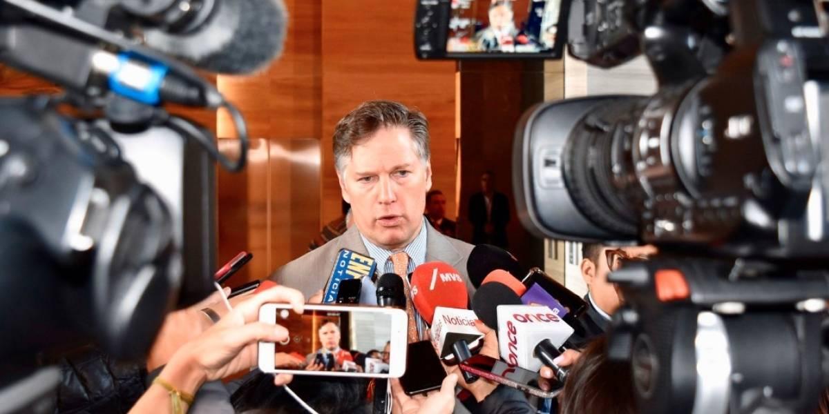 Christopher Landau explica declaración sobre seguridad entre México y EU
