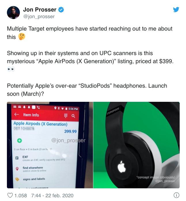 Apple audífonos