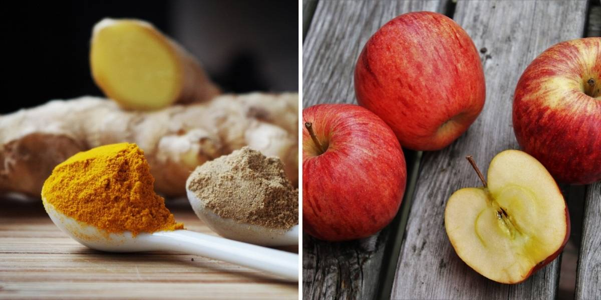 Detox de açafrão e vinagre de maçã para emagrecer