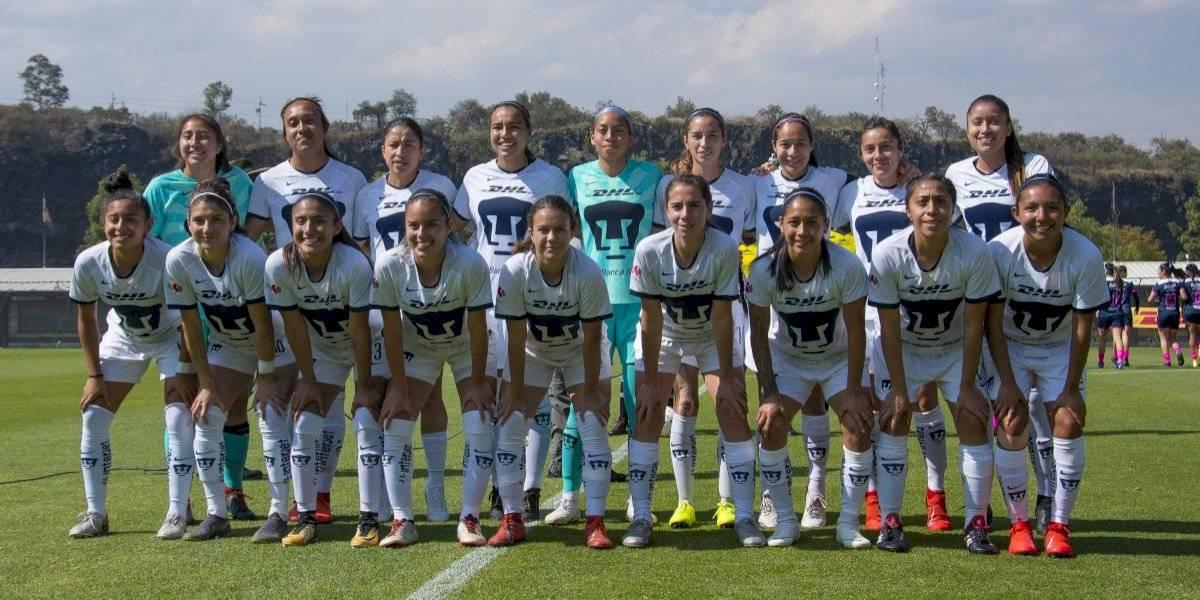 Pumas femenil jugará por primera ocasión en el Olímpico Universitario