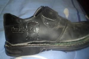 Zapatos entregados en Guanajuato.