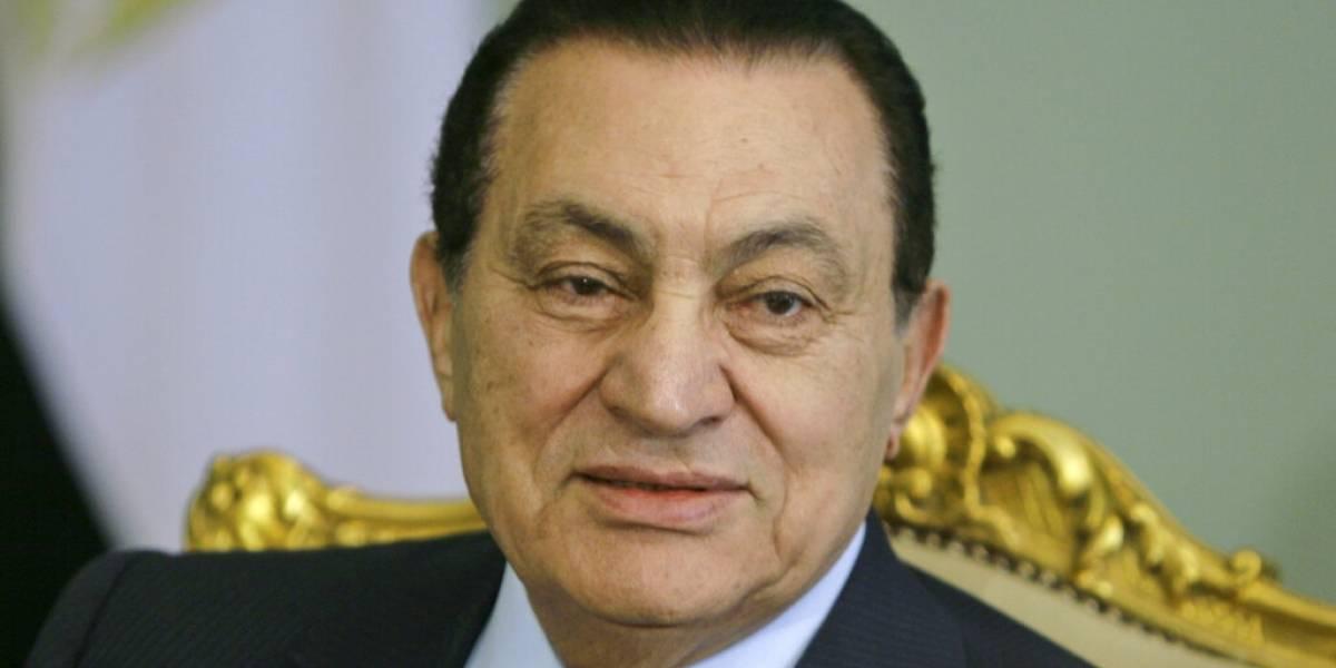A los 91 años falleció el ex presidente egipcio Hosni Mubarak