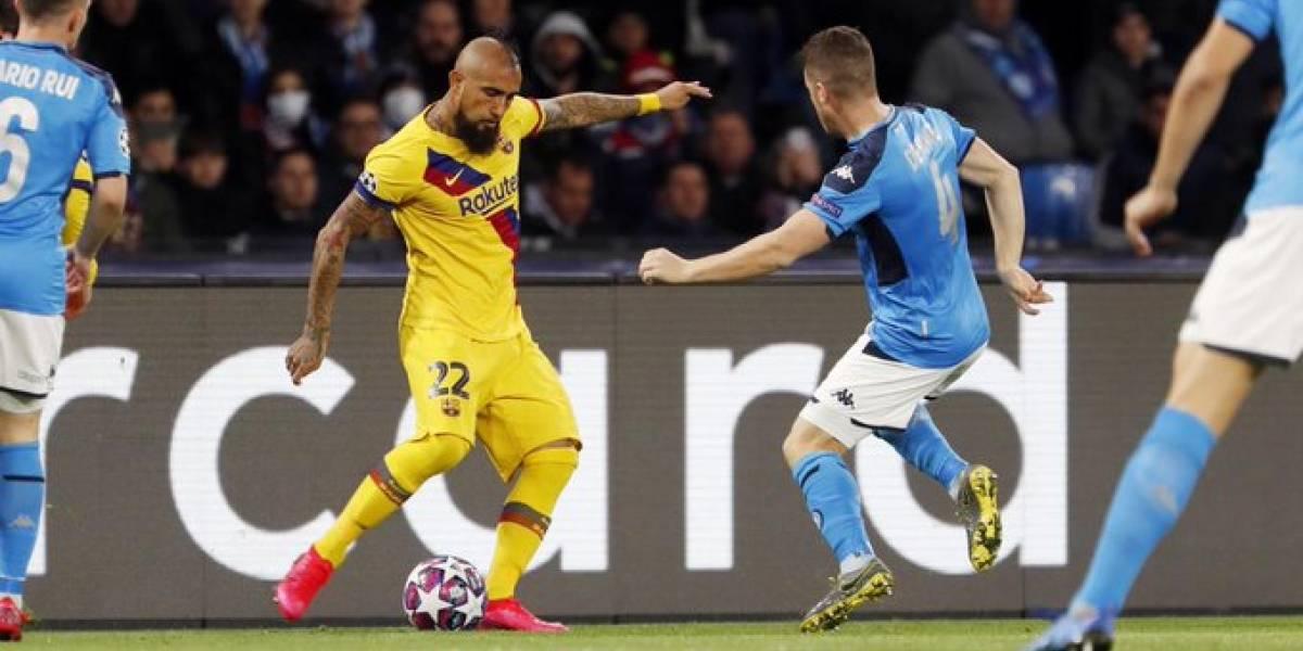 Napoli contra Barcelona: Estos blaugranas se pierden la vuelta en el Camp Nou
