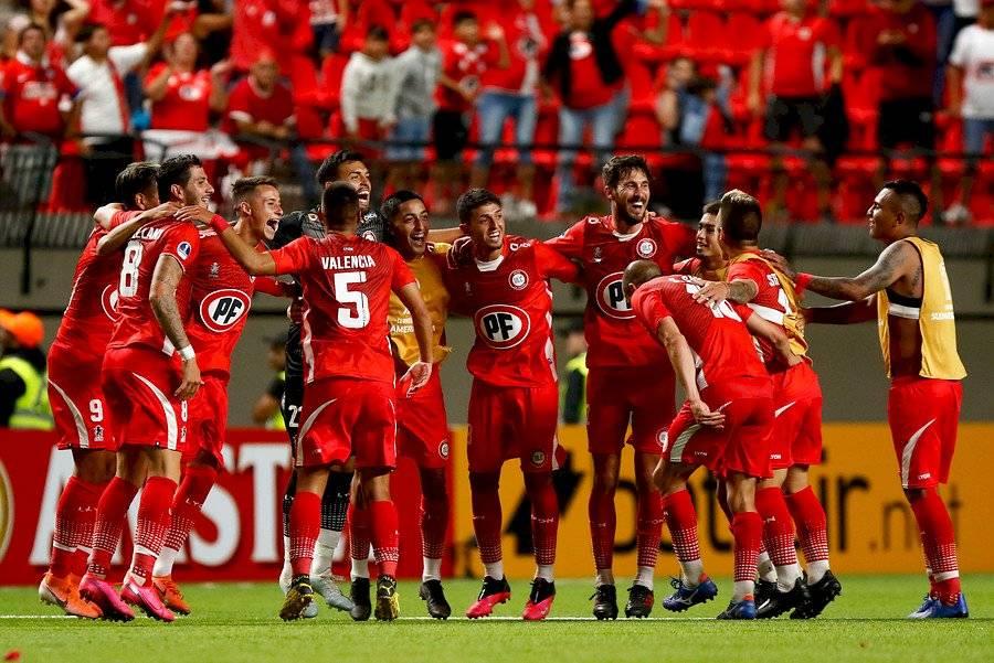 La Calera se instaló en segunda fase de la Sudamericana tras eliminar al poderoso Fluminense / Foto: Agencia UNO