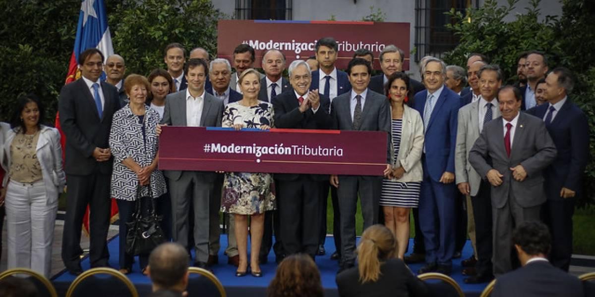 Presidente Piñera promulga la ley de modernización tributaria