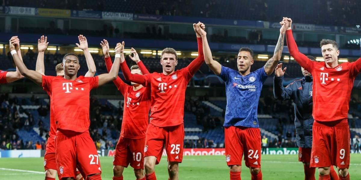 Las estadísticas de la victoria del Bayern 3-0 sobre Chelsea en Champions League