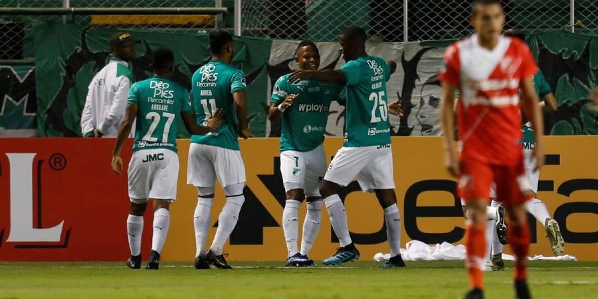 Deportivo Cali estuvo dulce en Paraguay y avanza en la Copa Sudamericana