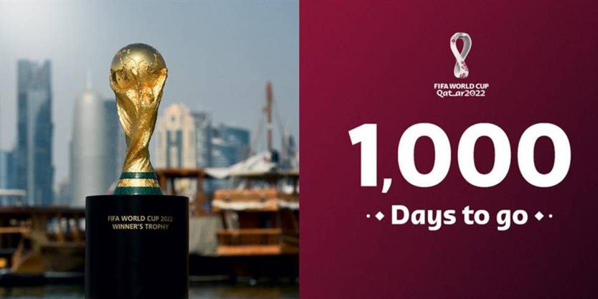 Catar quiere deslumbrar al mundo, a mil días del Mundial 2022