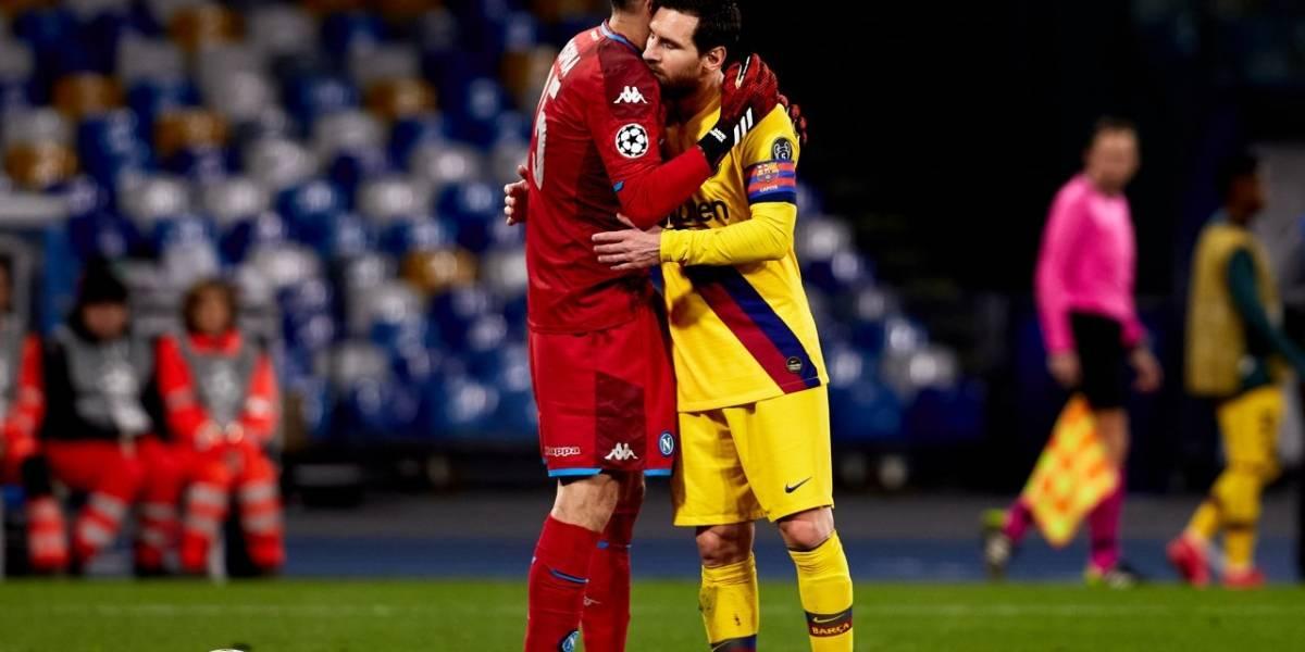 Napoli contra Barcelona: Los culés mandaron en posesión, pero con pocas ocasiones