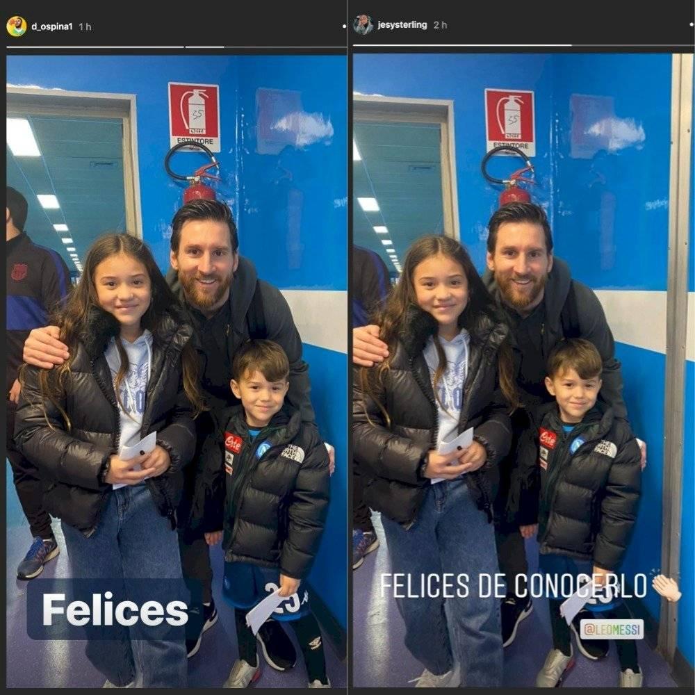Ospina sobre el choque con Messi en Napoli VS Barcelona