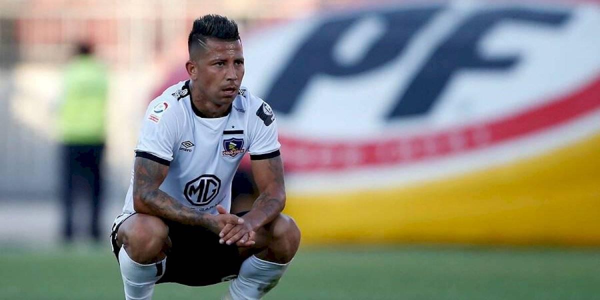 """Valencia y la crisis de Colo Colo: """"Los jugadores tenemos la mayor parte de la responsabilidad"""""""