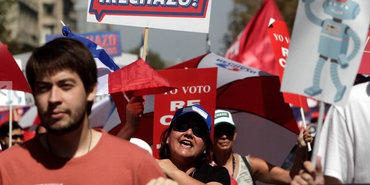 """Líderes del Rechazo celebran """"definiciones"""" constitucionales de Piñera"""