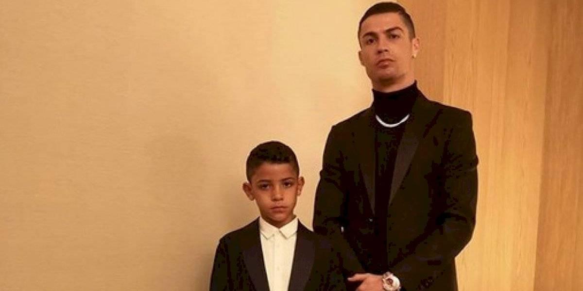 Hijo de Cristiano Ronaldo debuta en Instagram